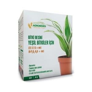 Agrobigen - Agrobigen Yeşil Bitkiler İçin Bitki Besini Katı 2 gr 24'lü