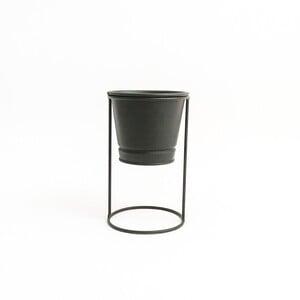 Fidan Burada - Ayaklı Saksı Siyah Renk 10 cm