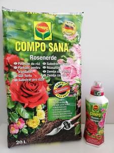 Compo Sana - Compo Sana Güller için Bakım Kiti (Toprak+Gübre)
