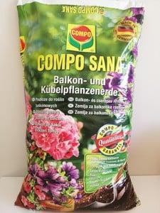 Compo Sana - Compo Sana Balkon ve Saksı Bitkileri Torfu 40 Lt