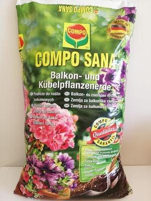 Compo Sana Balkon ve Saksı Bitkileri Torfu 40 Lt