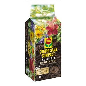 Compo Sana - Compo Sana Genel ve Çiçekli Bitkiler Saksı Toprağı 25 Lt