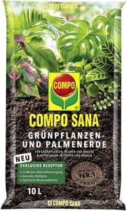 Compo Sana - Compo Sana Yeşil Bitkiler İçin Torf 10 Lt