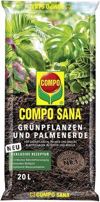 Compo Sana Yeşil Bitkiler İçin Torf 20 Lt
