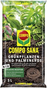 Compo Sana - Compo Sana Yeşil Bitkiler İçin Torf 5 Lt