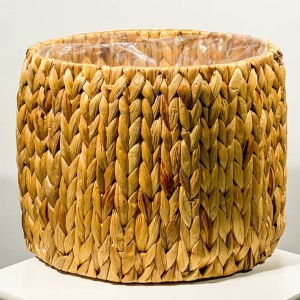 Fidan Burada - Straw Hasır Saksı 28cm