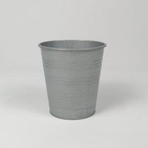 Fidan Burada - Taric-Galvaniz Saksı 17 cm