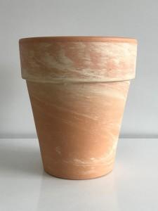 Fidan Burada - Terracota Marble Dekoratif Saksı