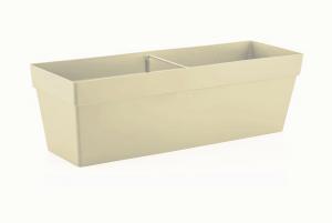 Fidan Burada - Yalı Balkon Saksısı-Kirli Beyaz 10,8 Lt